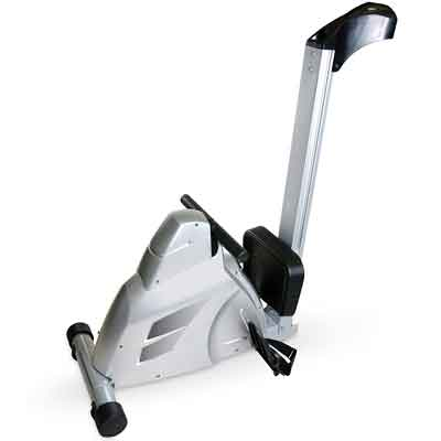 velocity exercise magnetic rower folded