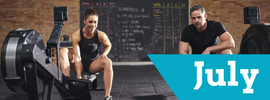 The July Workout – 12 Minute Fat Burner